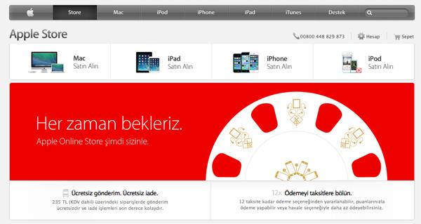 Apple Store Türkiye